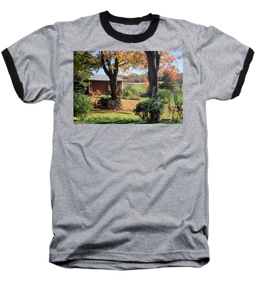 Retired Wagon Baseball T-Shirt