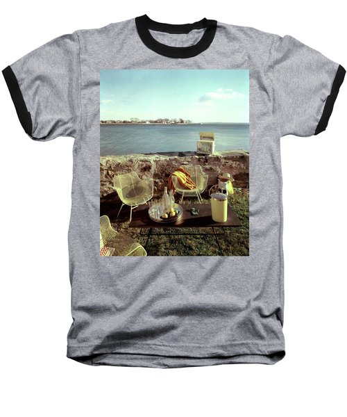 Retro Outdoor Furniture Baseball T-Shirt