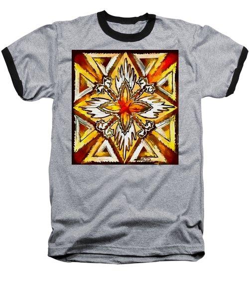Return Baseball T-Shirt by Kathy Bassett