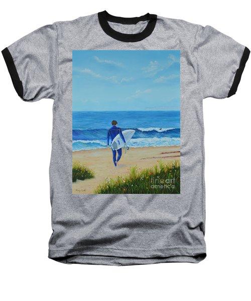 Returning To The Waves Baseball T-Shirt