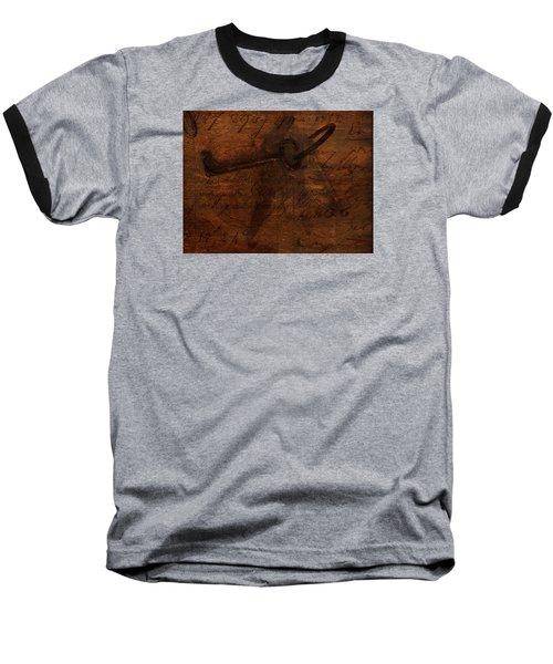 Revealing The Secret Baseball T-Shirt by Lesa Fine