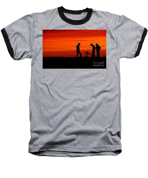 Cowboy Reverence Baseball T-Shirt