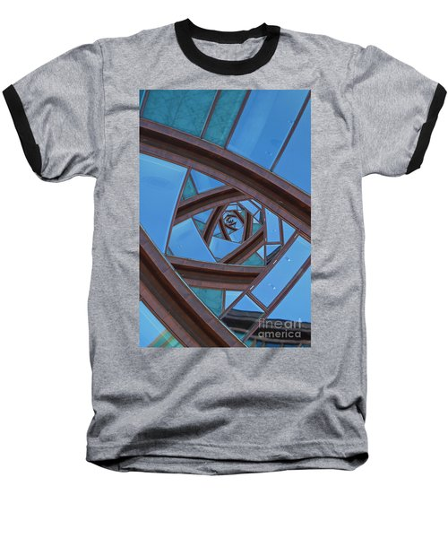 Baseball T-Shirt featuring the photograph Revolving Blues. by Clare Bambers