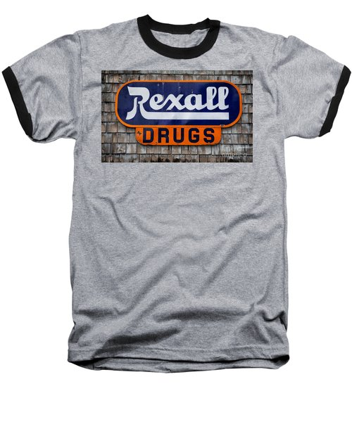 Rexall Drugs Baseball T-Shirt