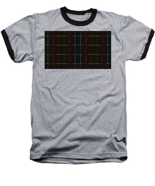 Rgb Network Baseball T-Shirt