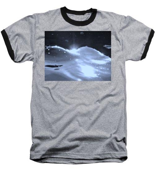 Moon Sunset Baseball T-Shirt