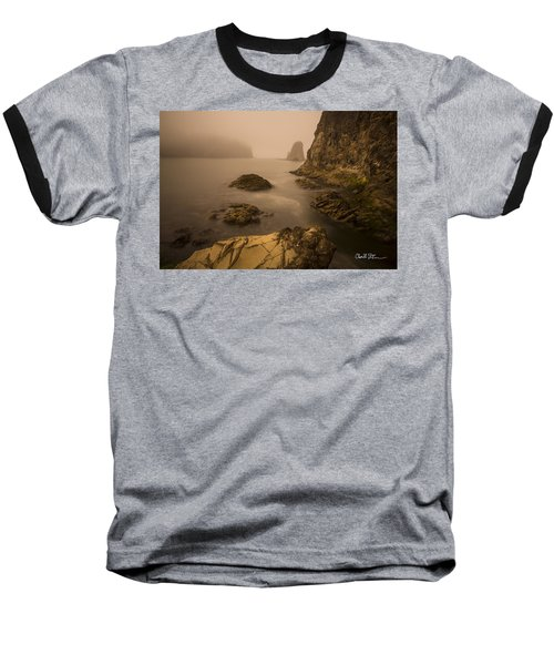 Rialto Beach Rocks Baseball T-Shirt