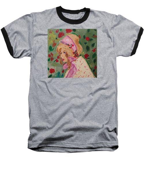 Ribbons And Roses Baseball T-Shirt
