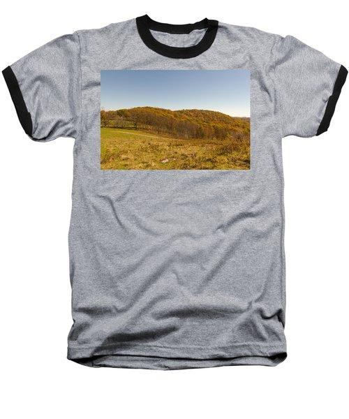 Rich Mountain Autumn Baseball T-Shirt