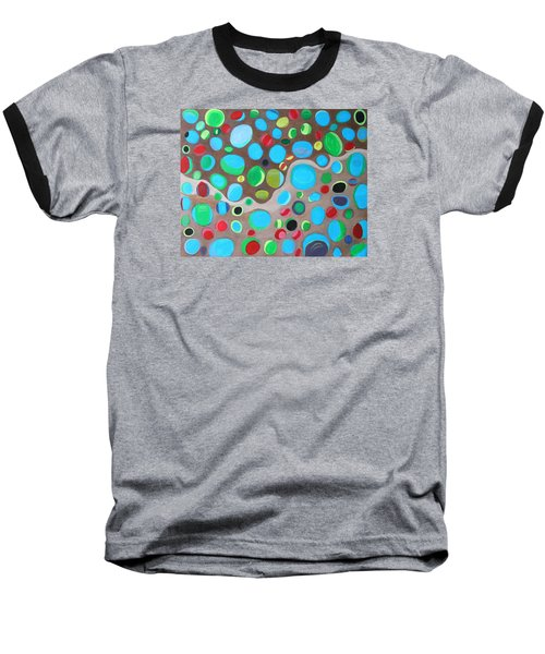 Riches Of People On Earth  Baseball T-Shirt by Lorna Maza