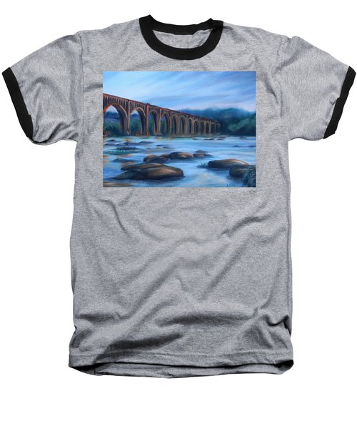 Richmond Train Trestle Baseball T-Shirt