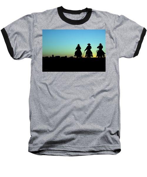Ride 'em Cowboy Baseball T-Shirt by Andrea Kollo