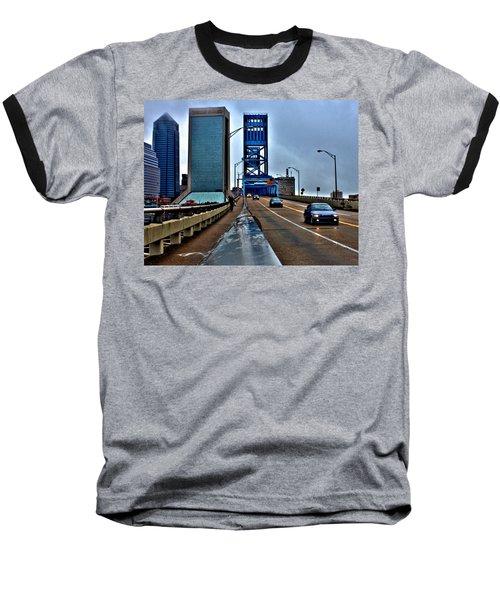 Ride The Rail Baseball T-Shirt