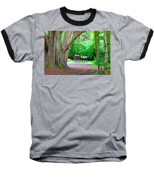 Riding In Style Baseball T-Shirt