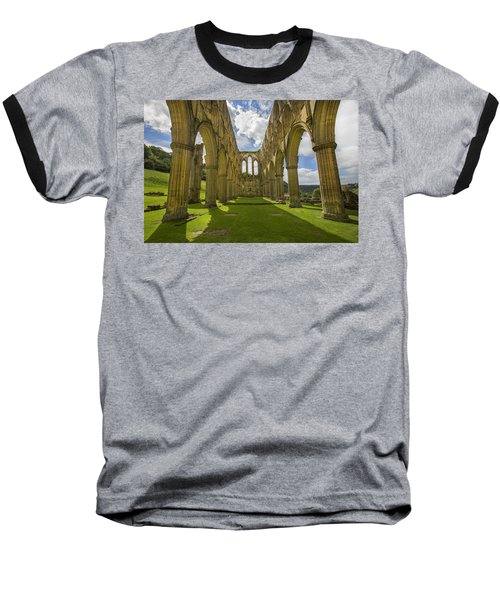 Rievaulx Abbey Baseball T-Shirt