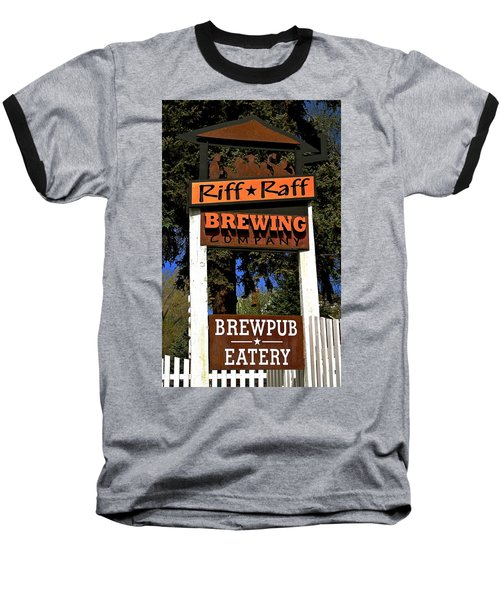 Riff Raff Brewing Baseball T-Shirt
