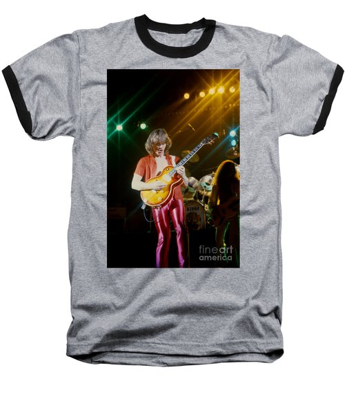 Rik Emmett Of Triumph At The Warfield Theater In San Francisco Baseball T-Shirt