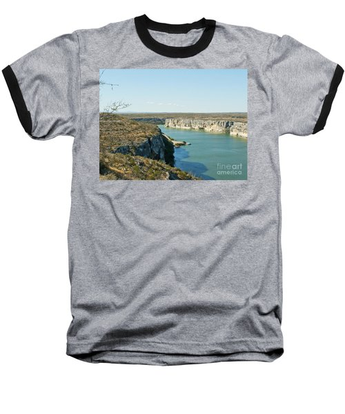 Baseball T-Shirt featuring the photograph Rio Grande by Erika Weber