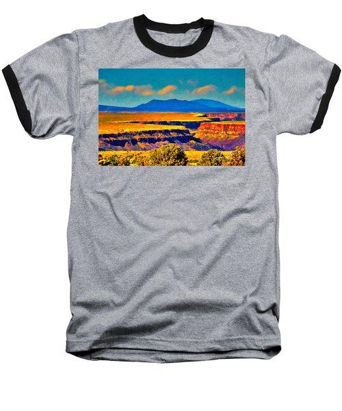 Rio Grande Gorge Lv Baseball T-Shirt