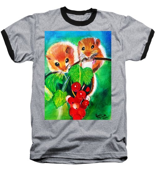 Ripe-n-ready Cherry Tomatoes Baseball T-Shirt