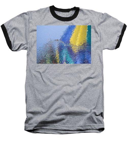 Ripples Baseball T-Shirt by Alex Lapidus