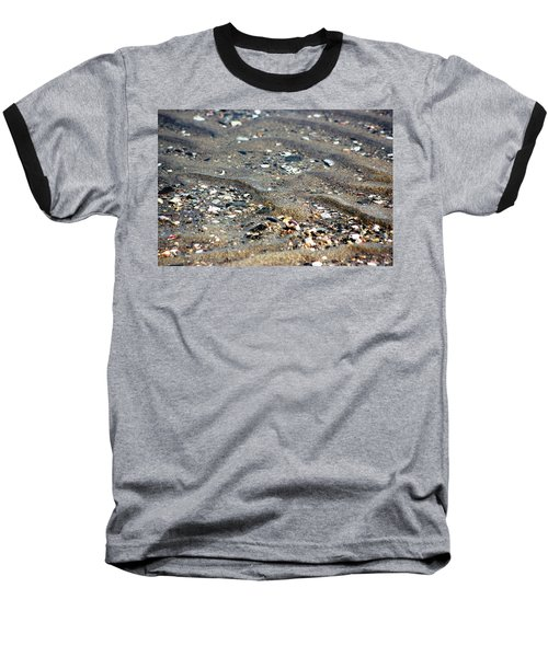 Ripples In The Sand Baseball T-Shirt