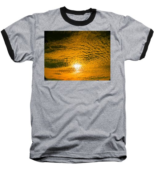 Ripples In The Sky Baseball T-Shirt