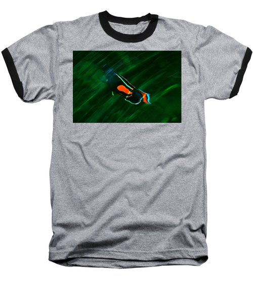 Ripples In The Water Baseball T-Shirt
