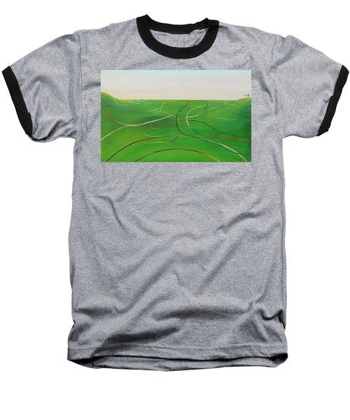 Ripples Of Life 1 Baseball T-Shirt