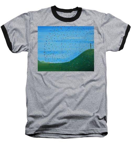 Ripples Of Life 2 Baseball T-Shirt