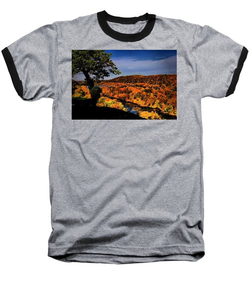 Baseball T-Shirt featuring the photograph Rise And Look Around You by Robert McCubbin