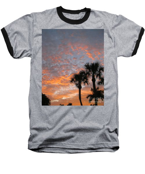 Rise And Shine. Florida. Morning Sky View Baseball T-Shirt