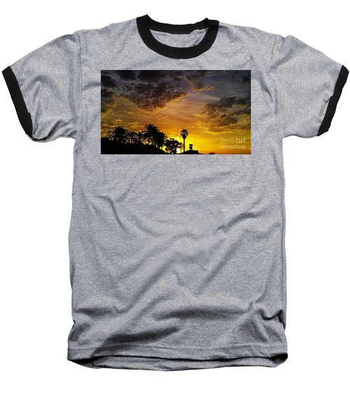 Baseball T-Shirt featuring the photograph Rise by Chris Tarpening