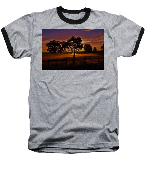 Rise Baseball T-Shirt by Robert Geary