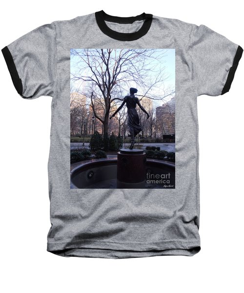 Rittenhouse Square At Dusk Baseball T-Shirt