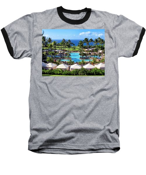 Ritz Carlton 17 Baseball T-Shirt