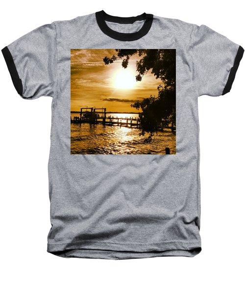 River Acres Jaynes Sunset Baseball T-Shirt