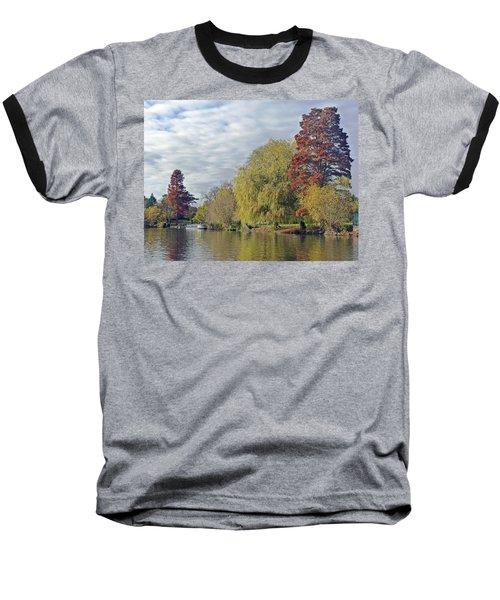 River Avon In Autumn Baseball T-Shirt