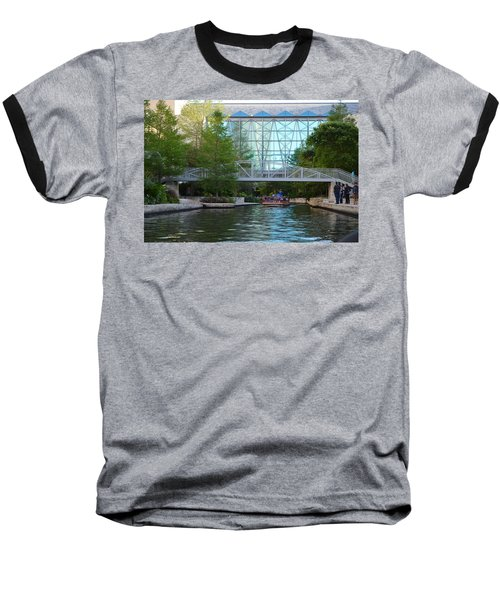 Baseball T-Shirt featuring the photograph River Boating  by Shawn Marlow