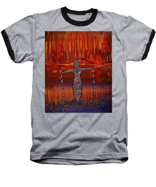 River Dance Baseball T-Shirt