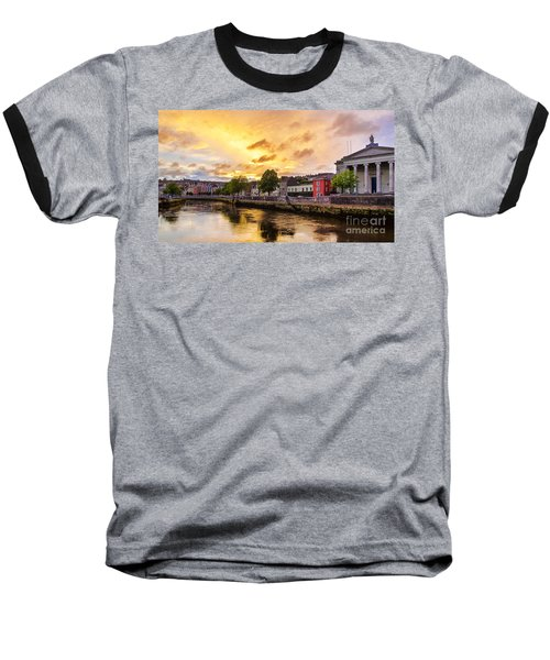 River Lee In Cork Baseball T-Shirt