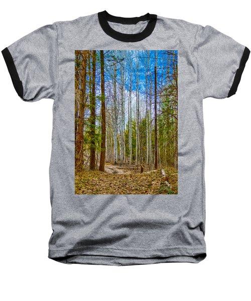 River Run Trail At Arrowleaf Baseball T-Shirt