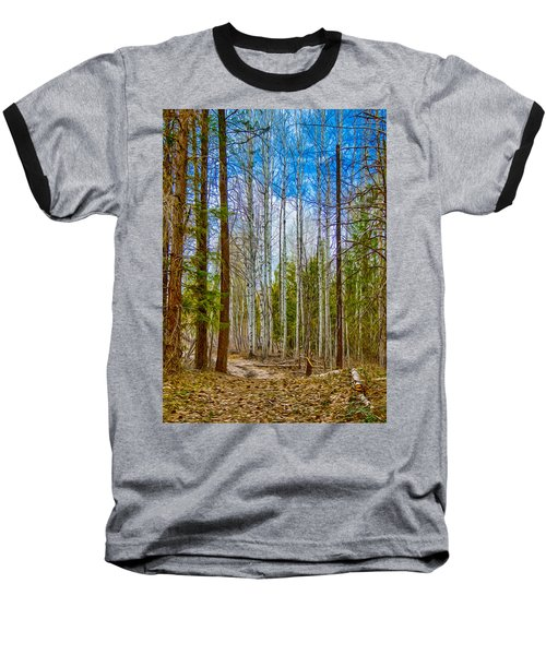 River Run Trail At Arrowleaf Baseball T-Shirt