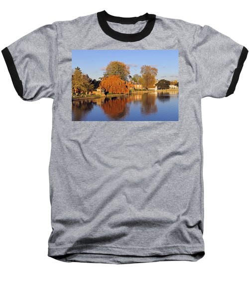 River Thames At Marlow Baseball T-Shirt