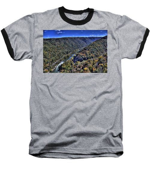 River Through The Hills Baseball T-Shirt