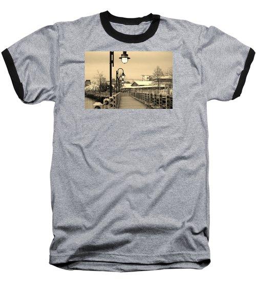 Riverfront Baseball T-Shirt by Cynthia Guinn