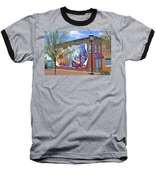 Riverside Gardens Park In Red Bank Nj Baseball T-Shirt