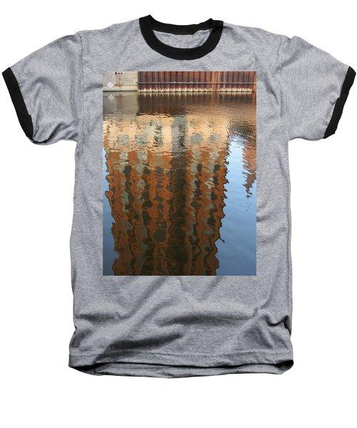 Riverwalk Reflection Baseball T-Shirt