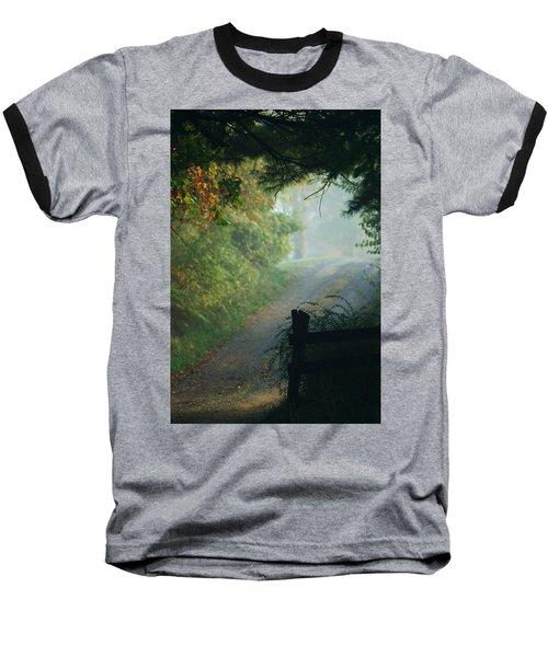 Road Goes On Baseball T-Shirt