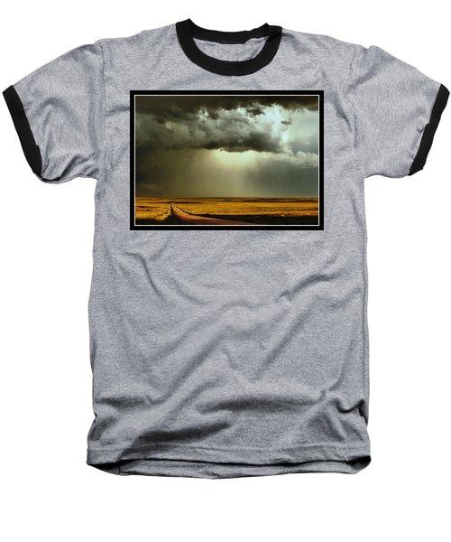 Road Into The Storm Baseball T-Shirt